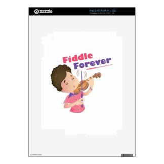 Violín para siempre calcomanías para iPad 2
