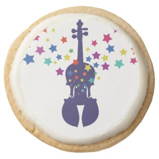 Violin Party Cookie