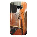 Violin Personalized Music Galaxy S6 Case