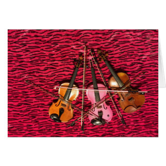 Violin Photo gifts Cards