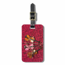 Violin Photo gifts Luggage Tag