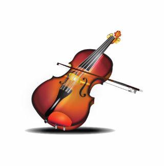 Violin Standing Photo Sculpture