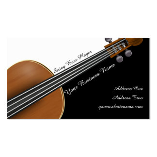 Violin Player Business Card Template