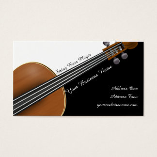 Violin Player Business Card