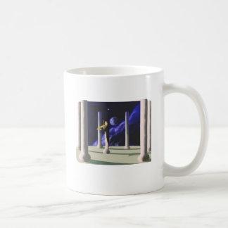 violin player coffee mug