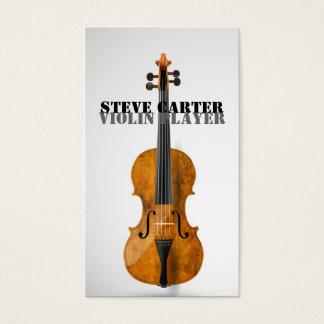 Violin Player Music Artist Concert Master Teacher Business Card
