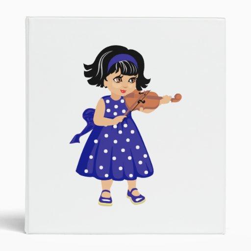 violin player young girl blue dress.png binder