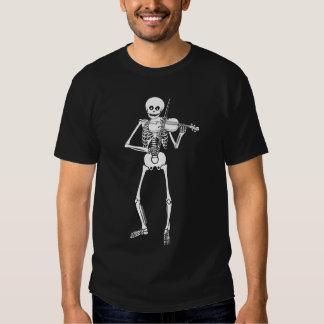 Violin Playing Skeleton Shirt