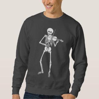 Violin Playing Skeleton Sweatshirt