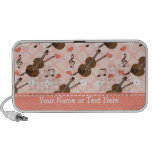 Violin Portable Doodle Speakers Personalized