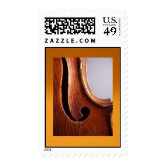 Violin Postage Stamps