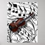 violin-poster, music, stringed, instruments,