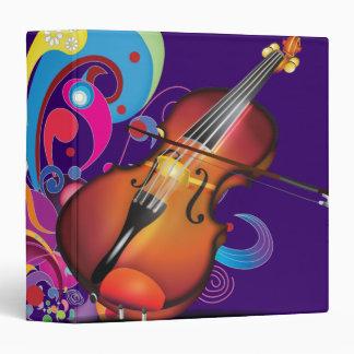 violin Purple Binder