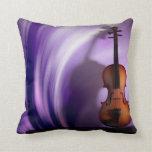 Violin Purple Passion Pillow
