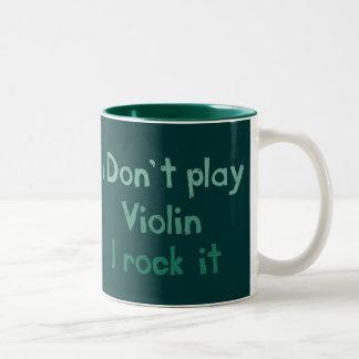 Violin Rock It Mug