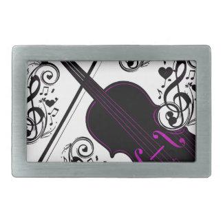 Violin,Rocking love_ Belt Buckle