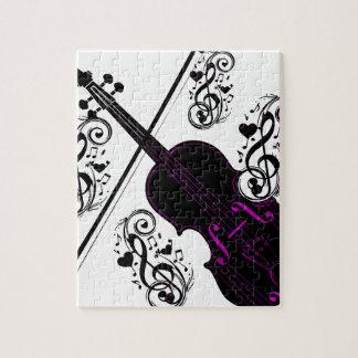 Violin,Rocking love_ Jigsaw Puzzles