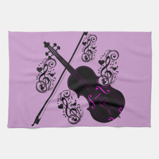 Violin,Rocking love_ Towel