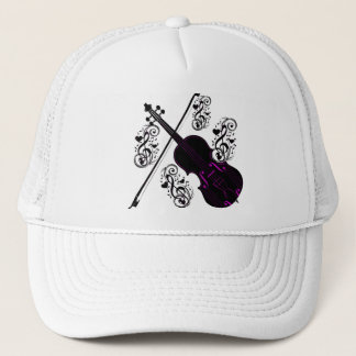 Violin,Rocking love_ Trucker Hat