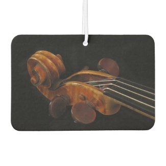 Violin Scroll Air Freshener