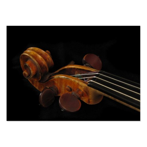 Violin Scroll ATC Business Cards