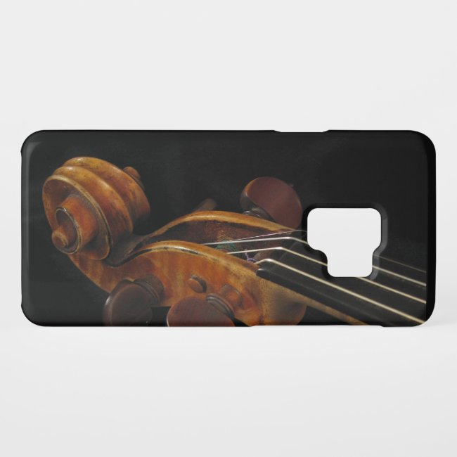 Violin Scroll Galaxy S9 Case