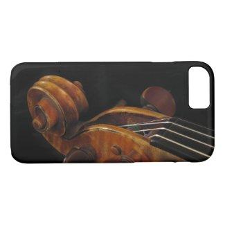 Violin Scroll Music iPhone 7 Case