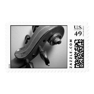 Violin Scroll Postage
