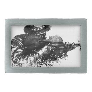 violin sniper belt buckle