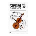 Violin Stamp