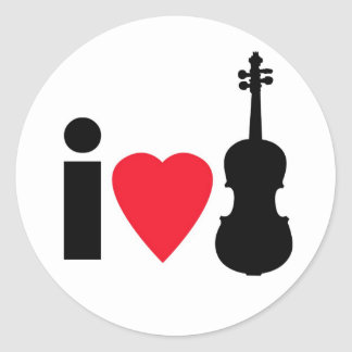 Violin Stickers
