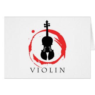 Violin Student Cards