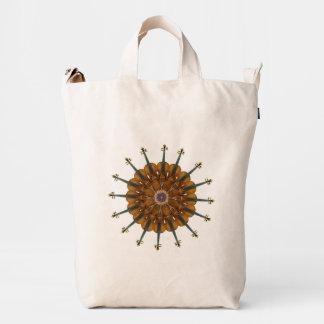 Violin Sunflower Duck Canvas Bag