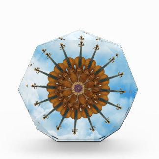 Violin Sunflower in Cloudy Blue Sky Award