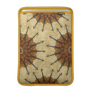Violin Sunflower MacBook Air Sleeve
