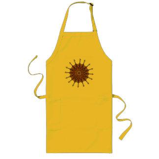 Violin Sunflower Long Apron