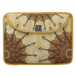 Violin Sunflower MacBook Pro Sleeves
