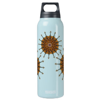 Violin Sunflowers Insulated Water Bottle