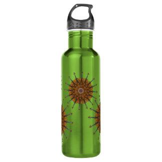 Violin Sunflowers Stainless Steel Water Bottle