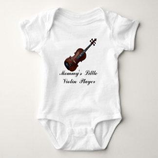 VIOLIN-T-SHIRT BABY BODYSUIT