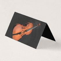 Violin Teacher Business Card