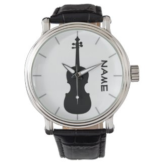Violin Teacher Gift Personalized Watch