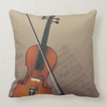 Violin Throw Pillows
