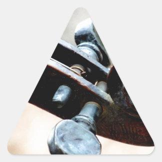 Violin Triangle Sticker