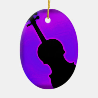 Violín u ornamento de la viola adorno para reyes