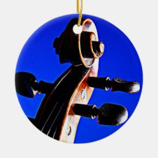 Violín u ornamento de la viola adornos