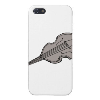 Violin Upright Bass Guitar Graphic Cover For iPhone SE/5/5s