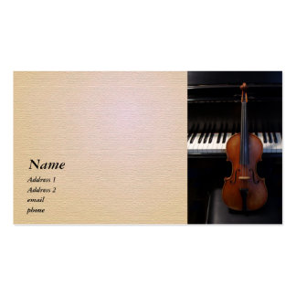 Violin Viola Business Card