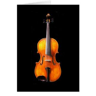 Violin/Viola Card by Leslie Harlow