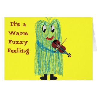Violin & Viola - Get a Warm Fuzzy Feeling Card